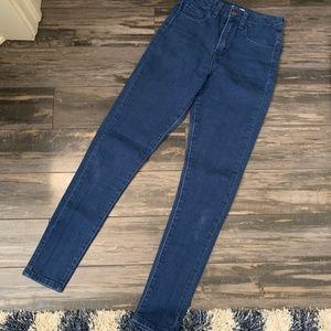 Forever 21 Ultra High-Waist Super Skinny Jeans